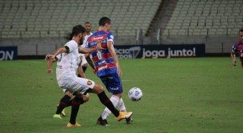 Sport perde para o líder Fortaleza e segue sem vencer na Série A