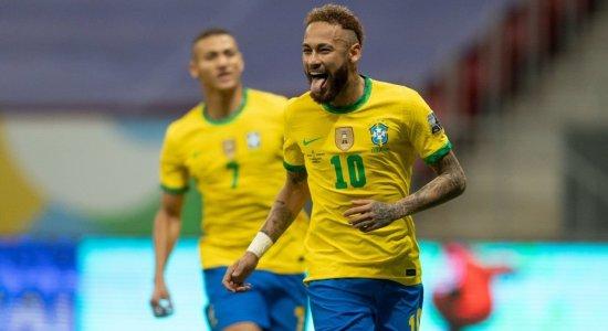 Ouça a narração dos gols da vitória do Brasil diante da Venezuela na voz de Alexandre Costa