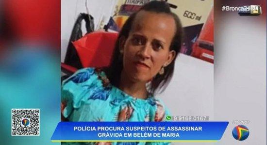 Mulher grávida de três meses é morta a tiros em Belém de Maria, no Agreste de Pernambuco