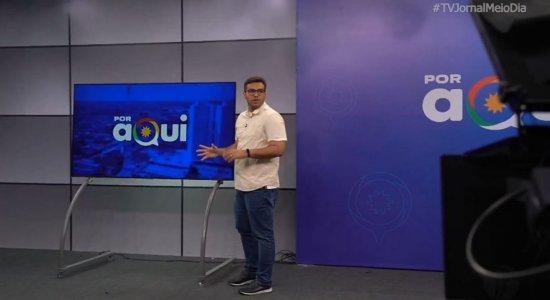 Por Aqui: confira os bastidores do novo programa da TV Jornal