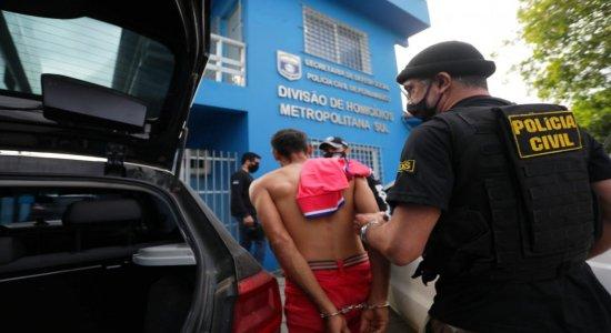 Meio-Dia: presos suspeitos de matar casal no litoral de Pernambuco