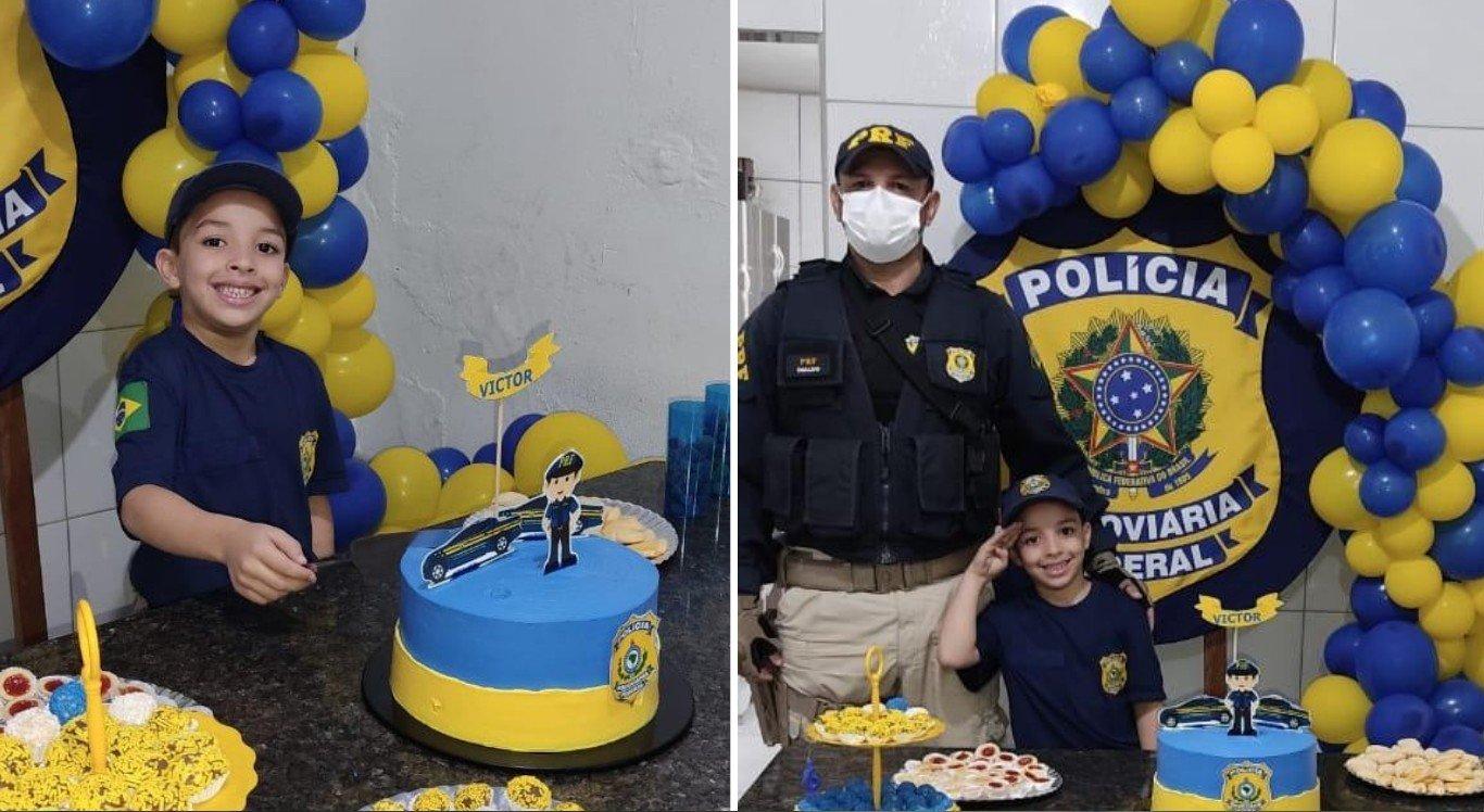 Victor Emanoel sonha em ser da Polícia Rodoviária Federal