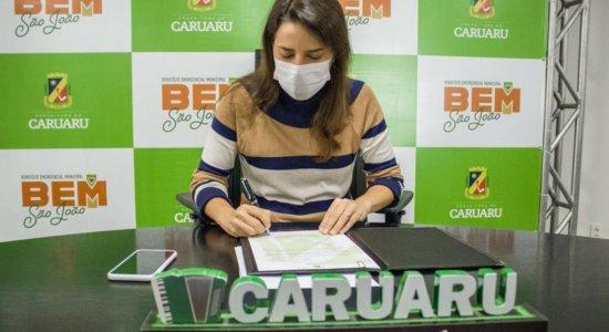 Prefeita de Caruaru, Raquel Lyra, sancionou Lei Municipal que estabelece o Benefício Emergencial Municipal