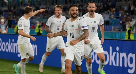 Eurocopa 2020: saiba onde assistir ao vivo Itália x Suíça e confira as prováveis escalações