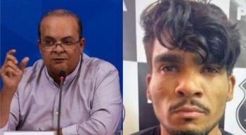 O governador do Distrito Federal, Ibaneis Rocha (MDB), comentou as buscas pelo criminoso