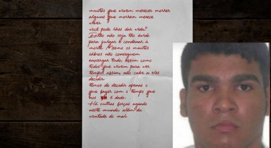 Polícia acha carta dentro de esconderijo de Lázaro Barbosa, o serial killer de Brasília; leia o documento