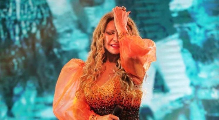 Elba Ramalho cantou grandes sucessos na live-show da TV Jornal