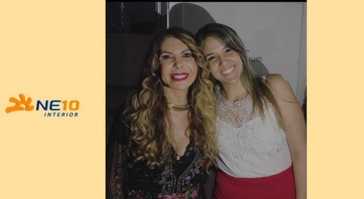 Camila é super fã de Elba Ramalho e já esteve presente em vários shows da artista