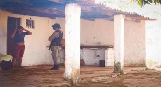 Atrás de Lázaro Barbosa, polícia faz buscas em casa invadida durante a madrugada neste domingo (20)