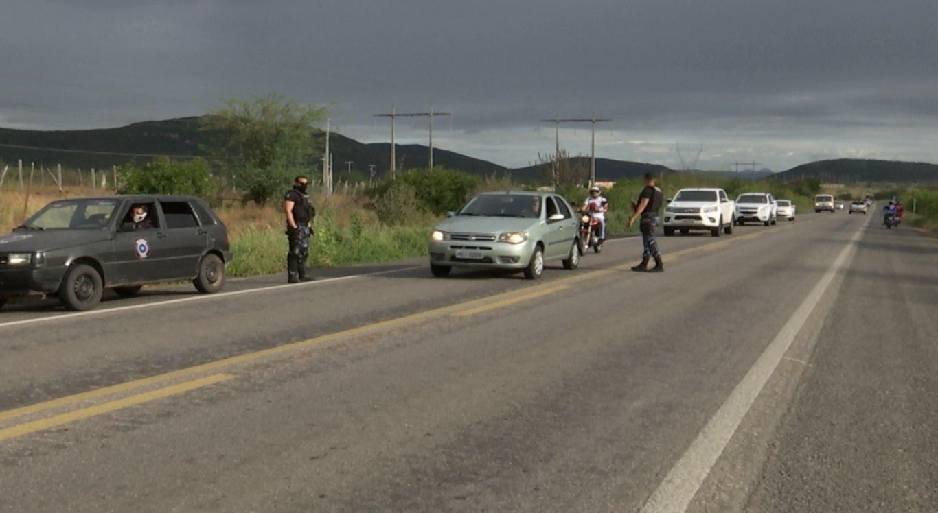 Troca de tiros em Taquaritinga do Norte