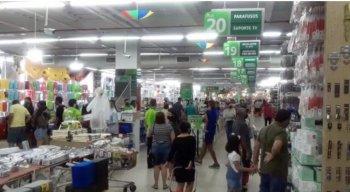 Atacado dos Presentes na Imbiribeira, Zona Sul do Recife