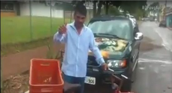 Vídeo antigo mostra Lázaro Barbosa agradecendo ao ganhar bicicleta: 'Que Deus abençoe vocês'