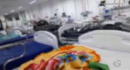 Denúncia: Cadáveres são deixados juntos de pacientes internados no Hospital Getúlio Vargas; veja vídeo