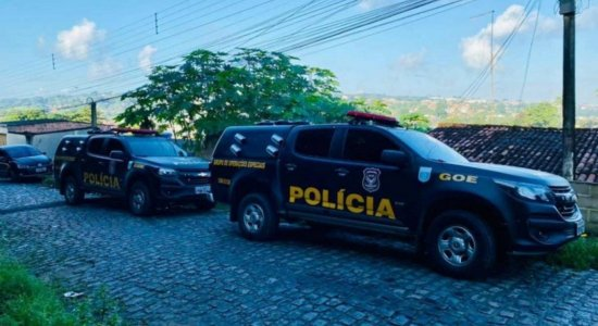 Operação da Polícia Civil desarticula associação criminosa suspeita de tráfico de drogas e lavagem de dinheiro em Pernambuco