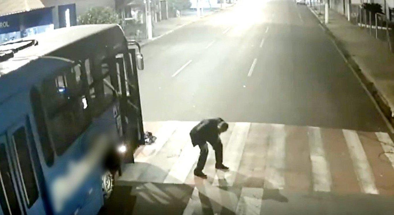 Câmera de Monitoramento/Prefeitura de Ourinho/Reprodução