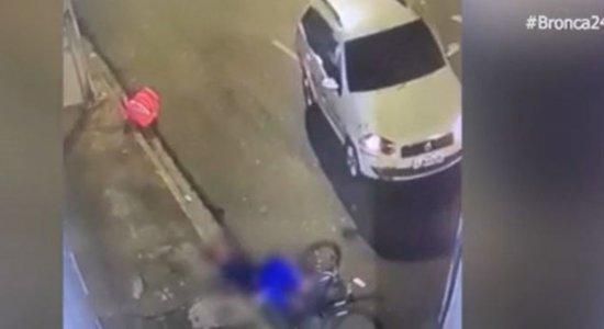 Vídeo: Entregador por aplicativo é atropelado e motorista foge no Recife