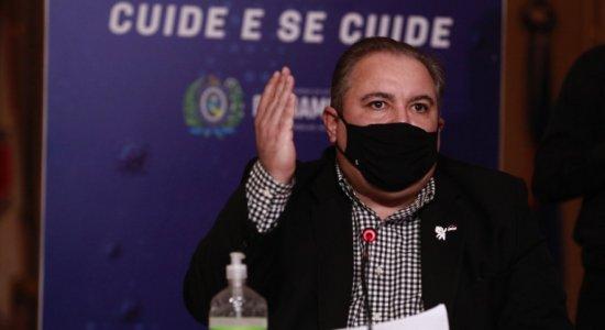 AO VIVO: coletiva sobre a Covid-19 em Pernambuco tem novo horário nesta quinta-feira (16); assista