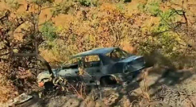 A descoberta de um carro abandonado e incendiado, fora do campo de buscas da polícia, aumentou o temor.