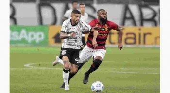 Sport não suportou na pressão do Cortinthians e saiu com a derrota.