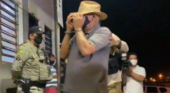 Fazendeiro de 74 anos foi preso, suspeito de ajudar Lázaro Barbosa a fugir.