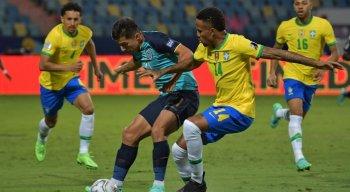 Brasil e Equador se enfrentaram pela última rodada da fase de grupos da Copa América
