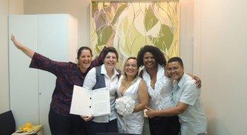 As primeiras uniões estáveis homoafetivas convertidas em casamento pela via judicial ocorreram no país em junho de 2011.