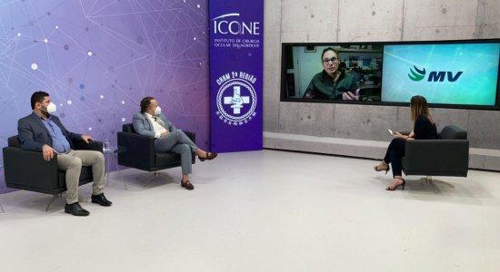 Conexão Saúde: reveja live com especialistas em saúde mental, biomedicina e oftalmologia