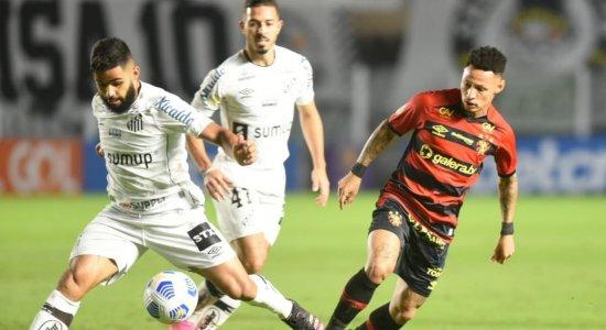 Estratégico, Sport segura o empate com o Santos na Vila Belmiro
