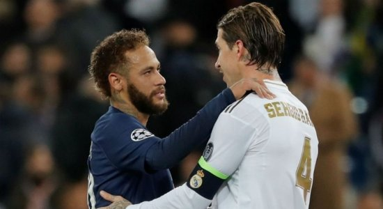 De rival, a novo 'parça' de Neymar; Sergio Ramos acerta com o PSG