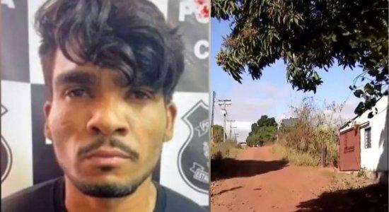 [Vídeo] Veja o local onde Lázaro Barbosa foi cercado e morto em Goiás