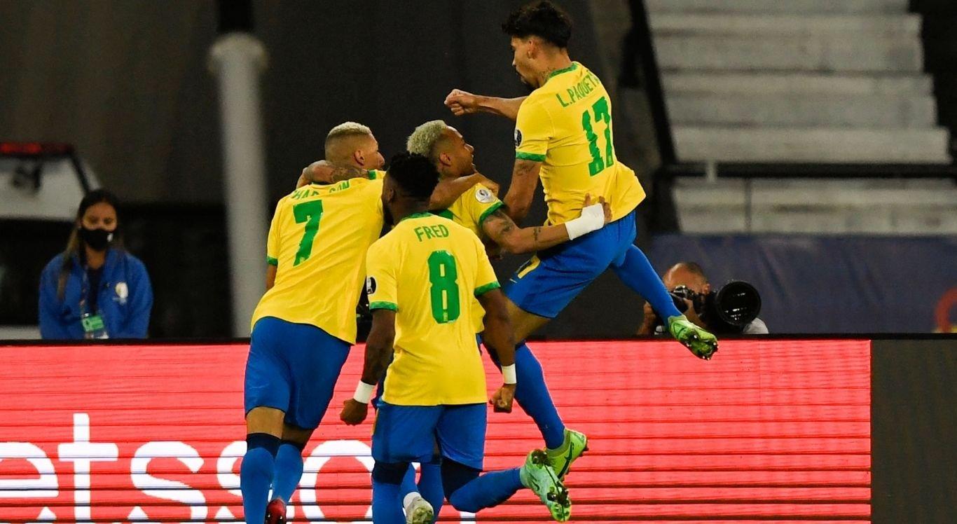 Lucas Paquetá marcou o gol da vitória do Brasil em cima do Chile
