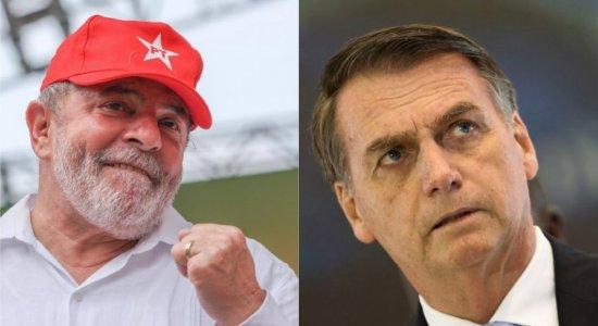 Corrida pela Presidência: Lula tem 41,3% das intenções de voto; Bolsonaro tem 26,6%, diz pesquisa