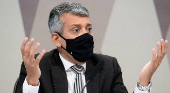 Ex-diretor do Departamento de Logística do Ministério da Saúde, Roberto Ferreira Dias