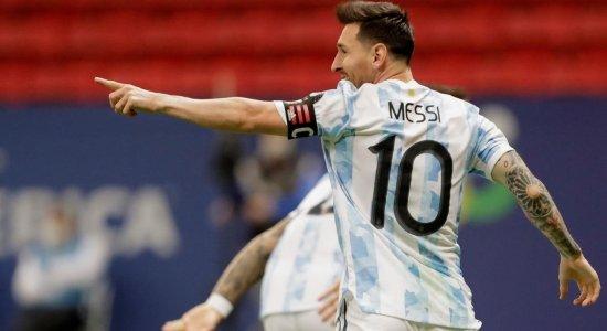 Argentina de Lionel Messi vai encarar o Brasil na final da Copa América