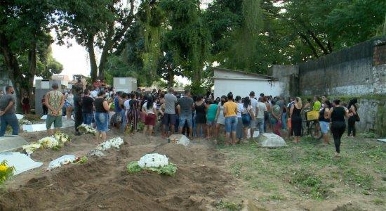 Bronca 24 Horas:  enterrado corpo da menina assassinada no Recife