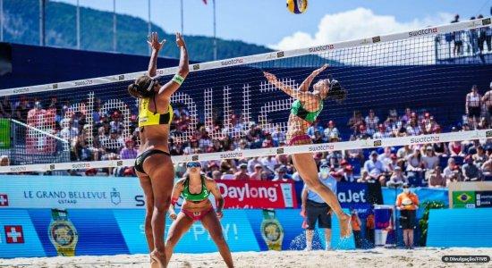 Brasileiras vencem última etapa do vôlei de praia antes de Tóquio