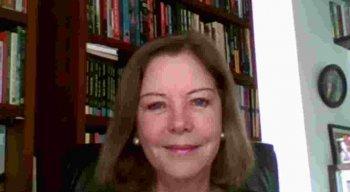 Eliane Cantanhêde, correspondente da Rádio Jornal