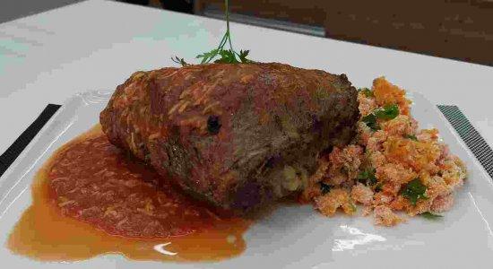 Receita de Picanha Recheada com várias dicas do chef Rivandro França