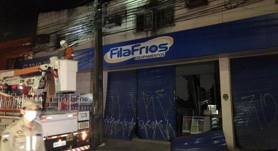 Bronca 24 Horas mostra que um prédio desabou no Recife