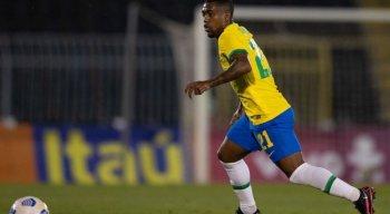 Malcom, do Zenit, foi convocado para defender a seleção brasileira nas Olimpíadas de Tóquio