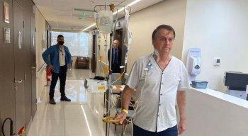 Bolsonaro está internado no Hospital Vila Nova Star, em São Paulo