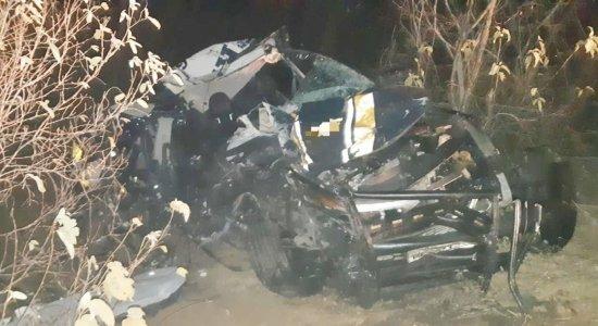 Policial Rodoviário Federal morre em acidente envolvendo animal e caminhão na BR-316, Sertão de Pernambuco