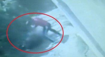 A mulher foi agredida pelo marido com um pé de cabra. O caso aconteceu em Camaragibe