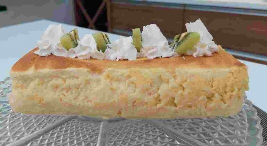 Bolo Cheesecake Japonês: receita deliciosa do chef Rivandro