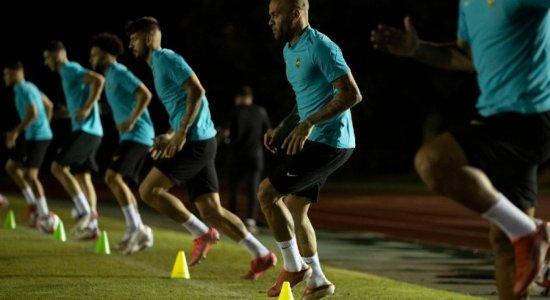 Daniel Alves revela ansiedade antes da estreia na Olimpíada de Tóquio