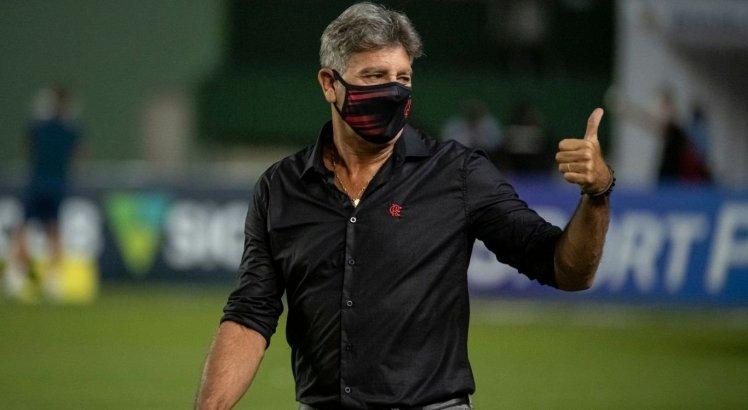 Renato Gaúcho começou bem o seu trabalho no comando do Flamengo