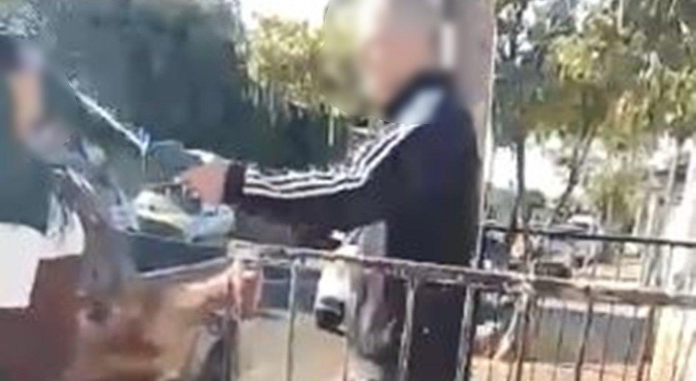 Idoso é suspeito de jogar ácido em mulher após briga