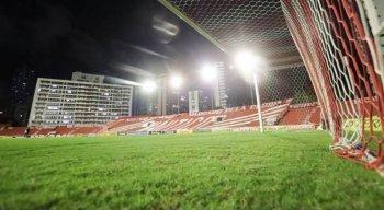 Gramado do estádio dos Aflitos é penhorado pela Justiça para pagamento de dívida trabalhista