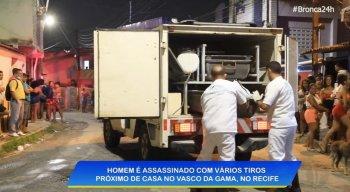 Corpo da vítima foi encaminhado ao IML do Recife.
