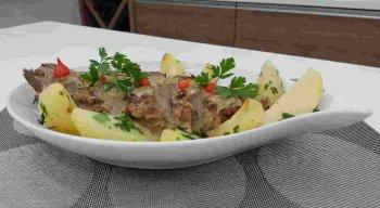 Receita de Cupim com Molho de Leite e Melaço Picante preparada pelo chef Rivandro França